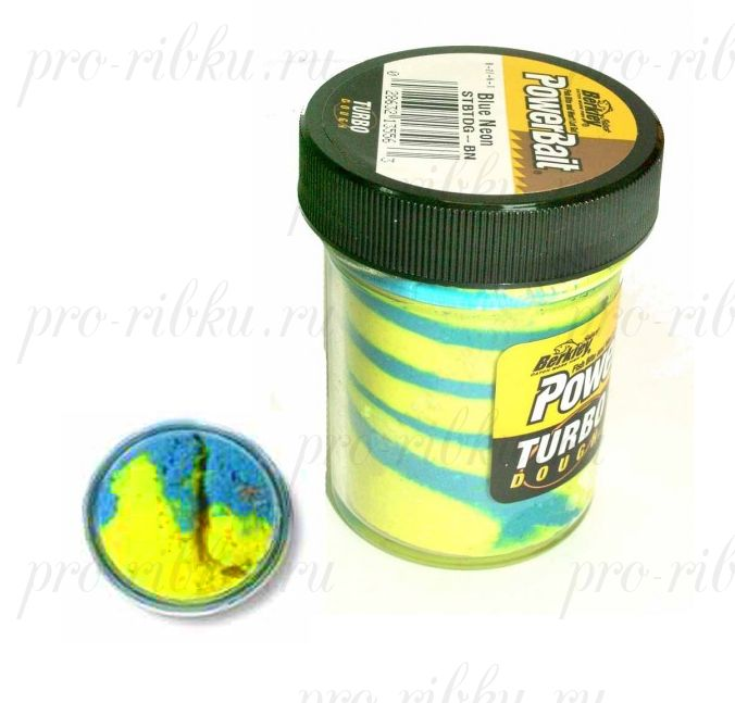 Паста Berkley 50gr Turbo STBTDG-BN Blue Neon