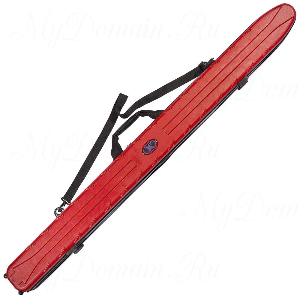 Чехол жесткий X7 Rod Case 145 Red