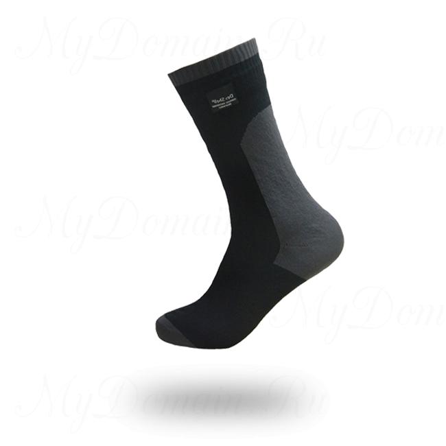 Носки водонепроницаемые DexShell Waterproof Coolvent socks, дышащие, черные euro39-42 MEDIUM