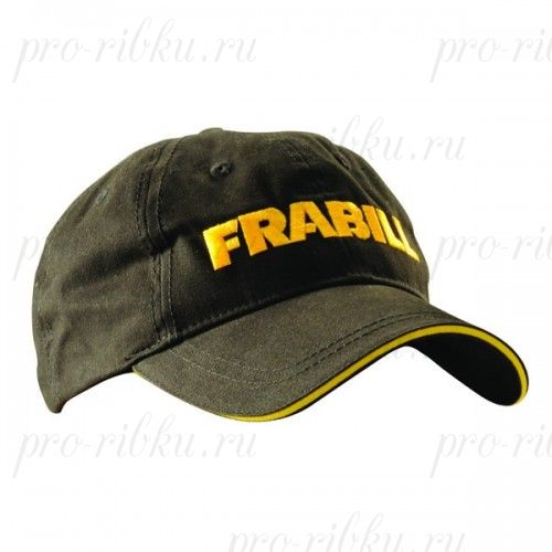 Бейсболка Frabill Baseball Cap with wordmark, черная
