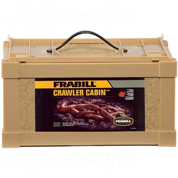 Контейнер большой для живых приманок Frabill Crawler Cabin, 30см*20см*16см (#1035)
