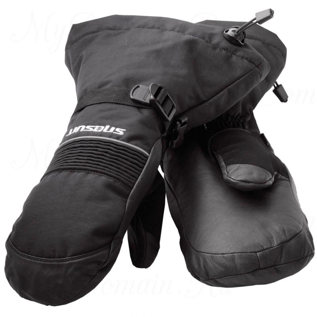 Рукавицы Frabill FXE™ Gauntlet Mitt водо/ветрозащитные дышащие кожа черные размер S