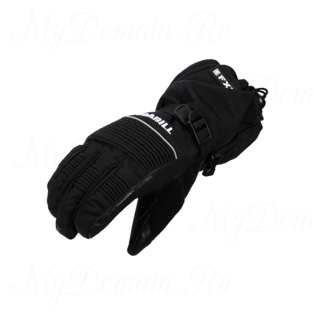 Перчатки Frabill FXE™ Gauntlet GLOVE водо/ветрозащитные дышащие кожа черные размер XL