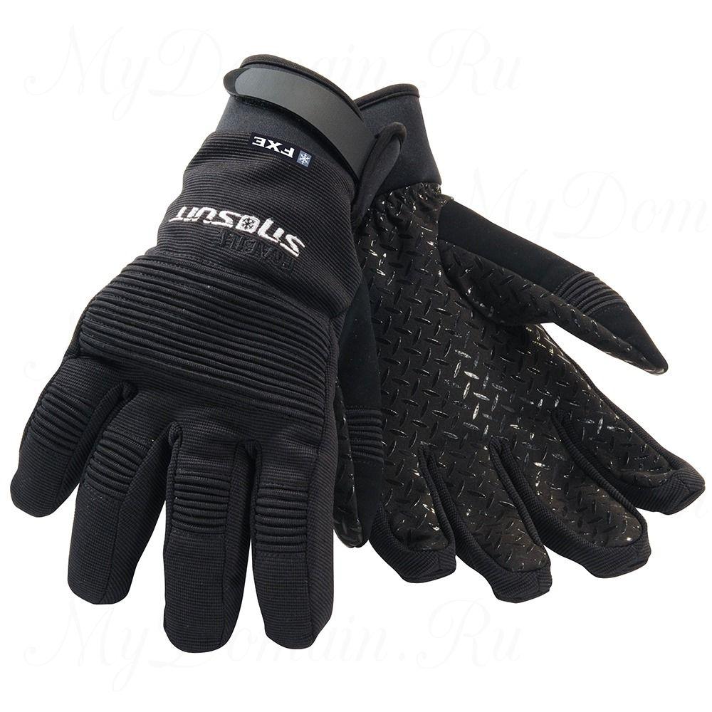 Перчатки Frabill FXE™ Task Glove нескользящие водо/ветрозащитные дышащие кожа черные размер S