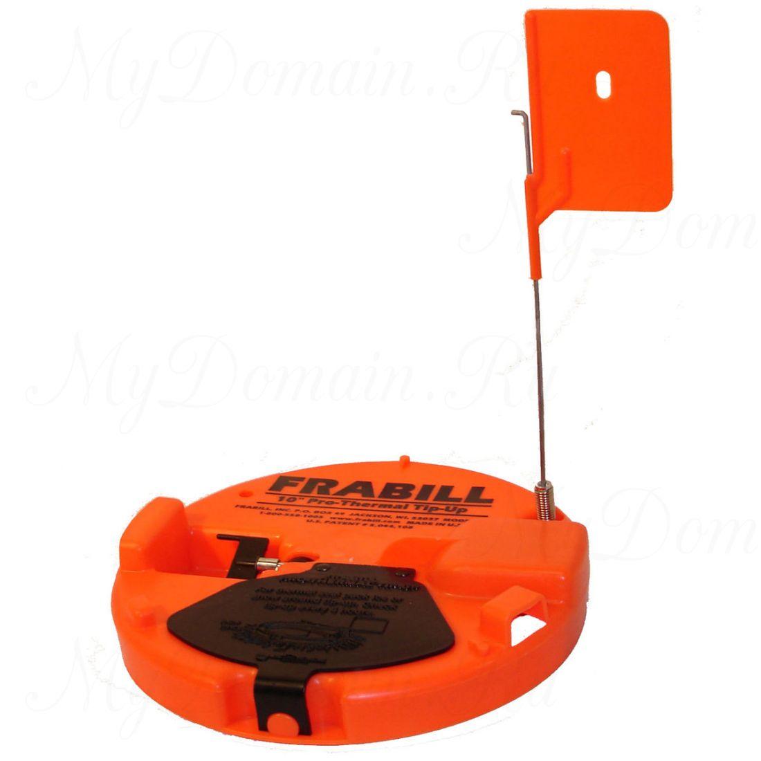 Жерлица Frabill Pro Thermal Tip-Up круглая, термальная, оранжевая