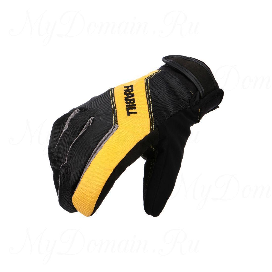 Перчатки Frabill Task Glove ALP водо/ветрозащитные дышащие черные размер XL