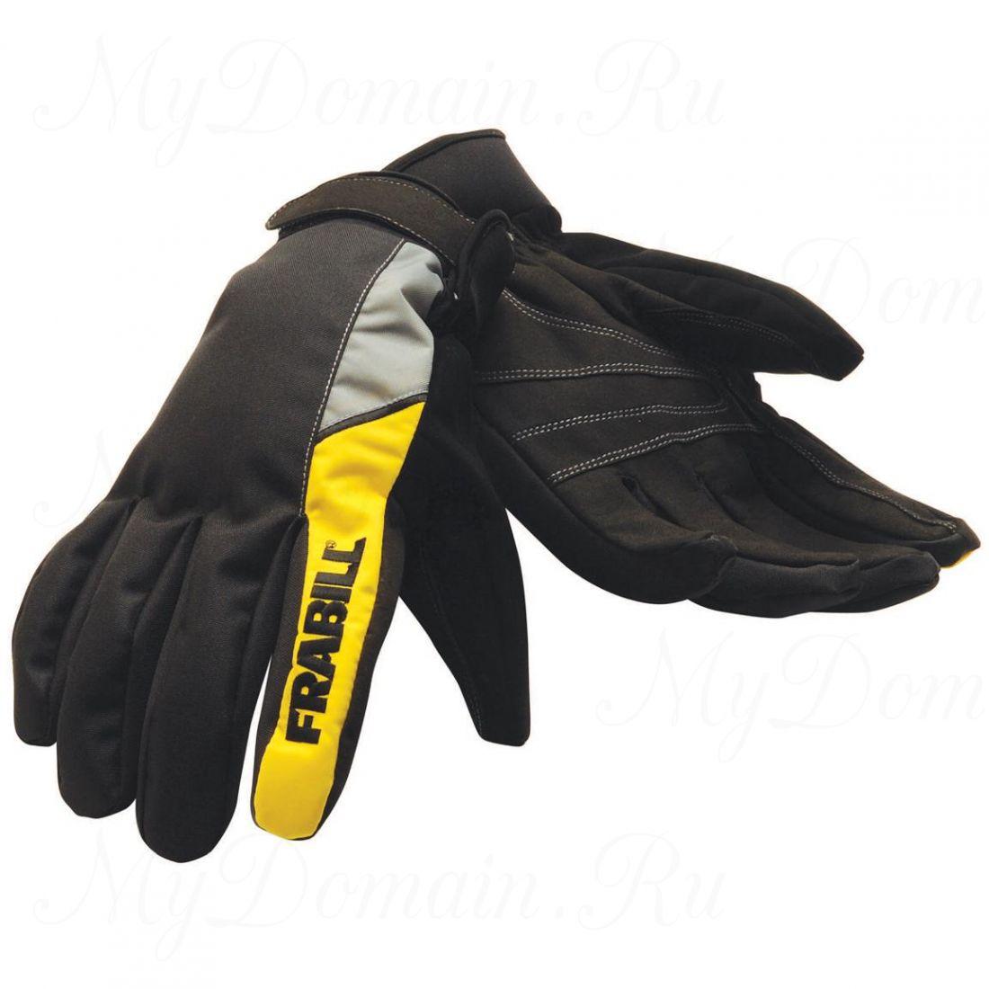 Перчатки Frabill Task Glove водо/ветрозащитные дышащие черные размер XL