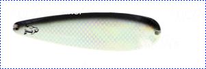 Блесна троллинговая колеблющаяся Rhino Trolling Spoons III модель MAG 115 мм, 16 гр., расцветка: glow blue shiner