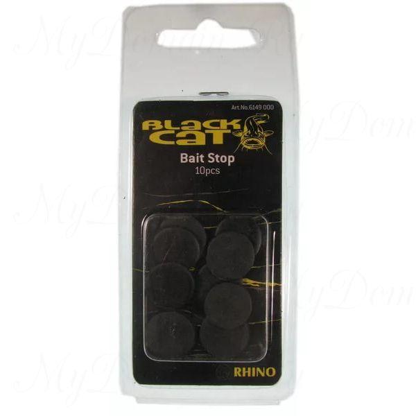 Стопор-шайба Black Cat Bait Stops 15 mm, 10 pcs