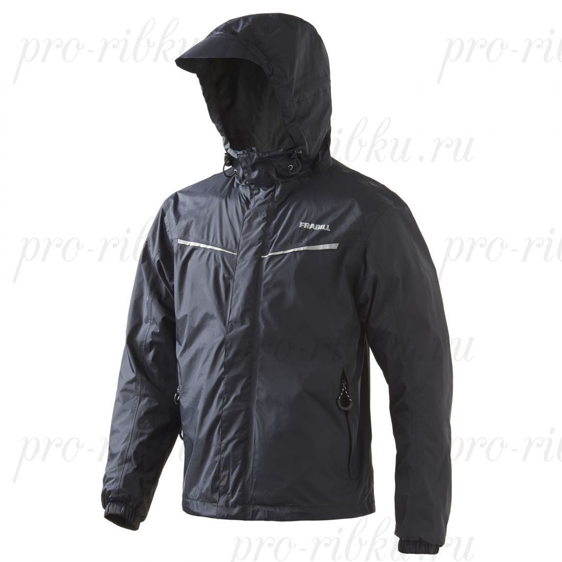 Куртка штормовая FRABILL Stow Jacket Black, р. M