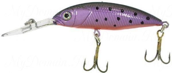 Воблер Wake Jive 50F 5 см, 5гр. плавающий №655 Rainbow Trout