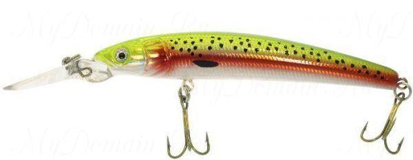 Воблер Wake Jive 95F, 9,5cм. 12гр, плавающий №037 Rainbow fry