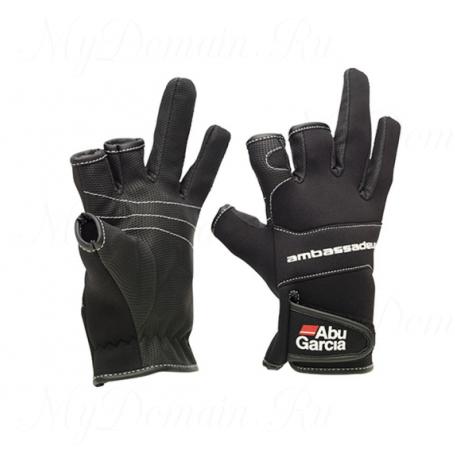 Перчатки Abu Garcia Stretchable Neoprene Gloves L