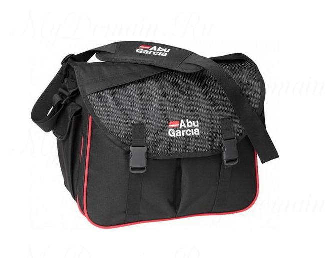 Сумка Abu Garcia Allround Game Bag 38x18x34 Черно/Красная