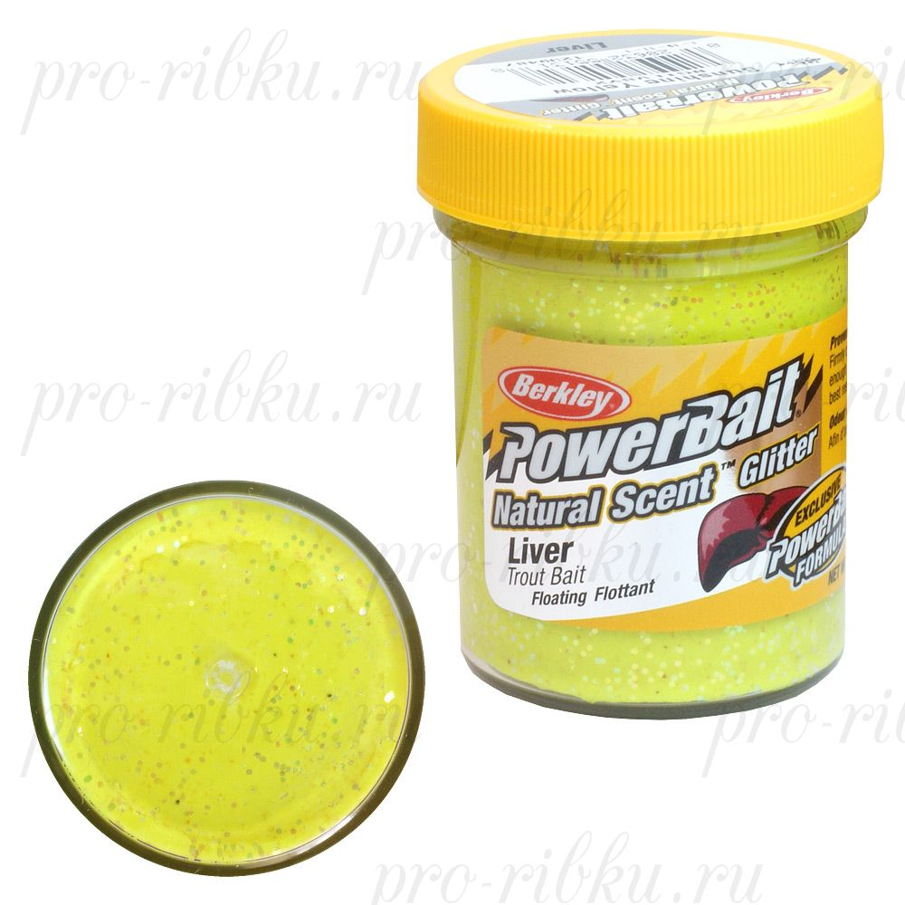 Паста Berkley 50g LIVER - SUNSHINE YELLOW