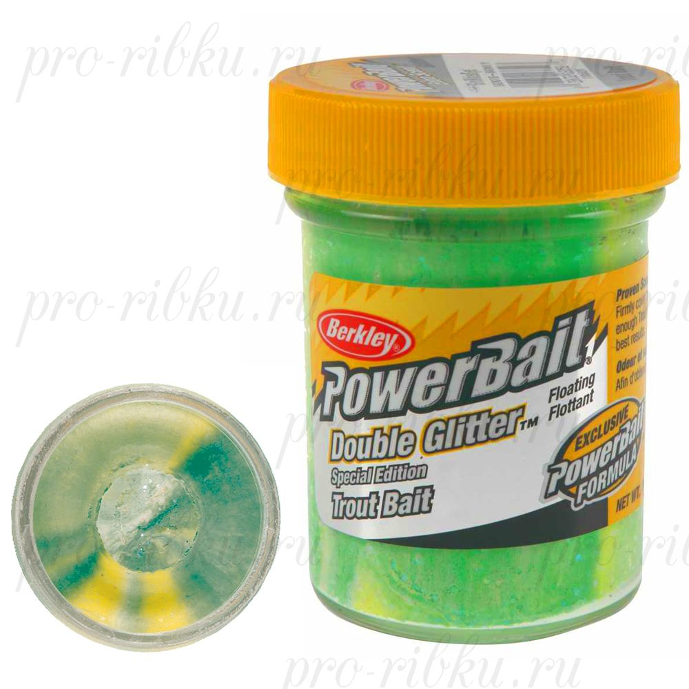 Паста Berkley 50gr ESDGTB-SGWLY Green/White Lemon Yellow