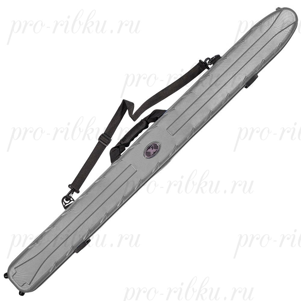 Чехол жесткий X7 Rod Case 155 Metal Chrome