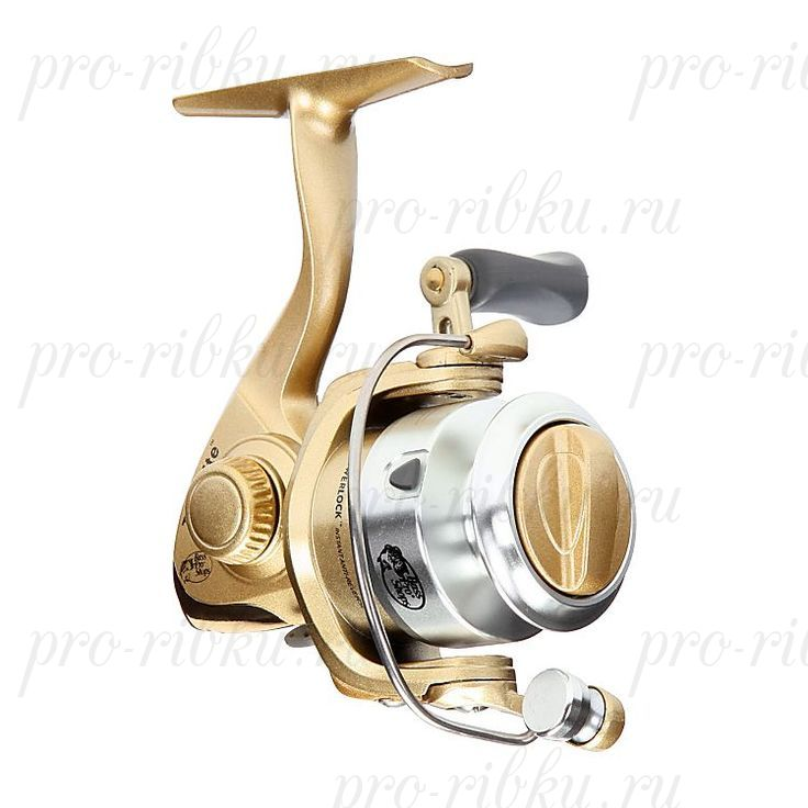 Катушка безынерционная Bass Pro Shops Tiny Lite 4LB, передат. отн. 5.2:1; подшипники 1+1; вес 153 гр.