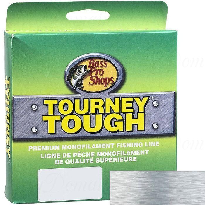 Леска монофильная Bass Pro Shops Tourney Tough Зеленый 0,304 мм; 10 lb/4,5 кг; 252 м.