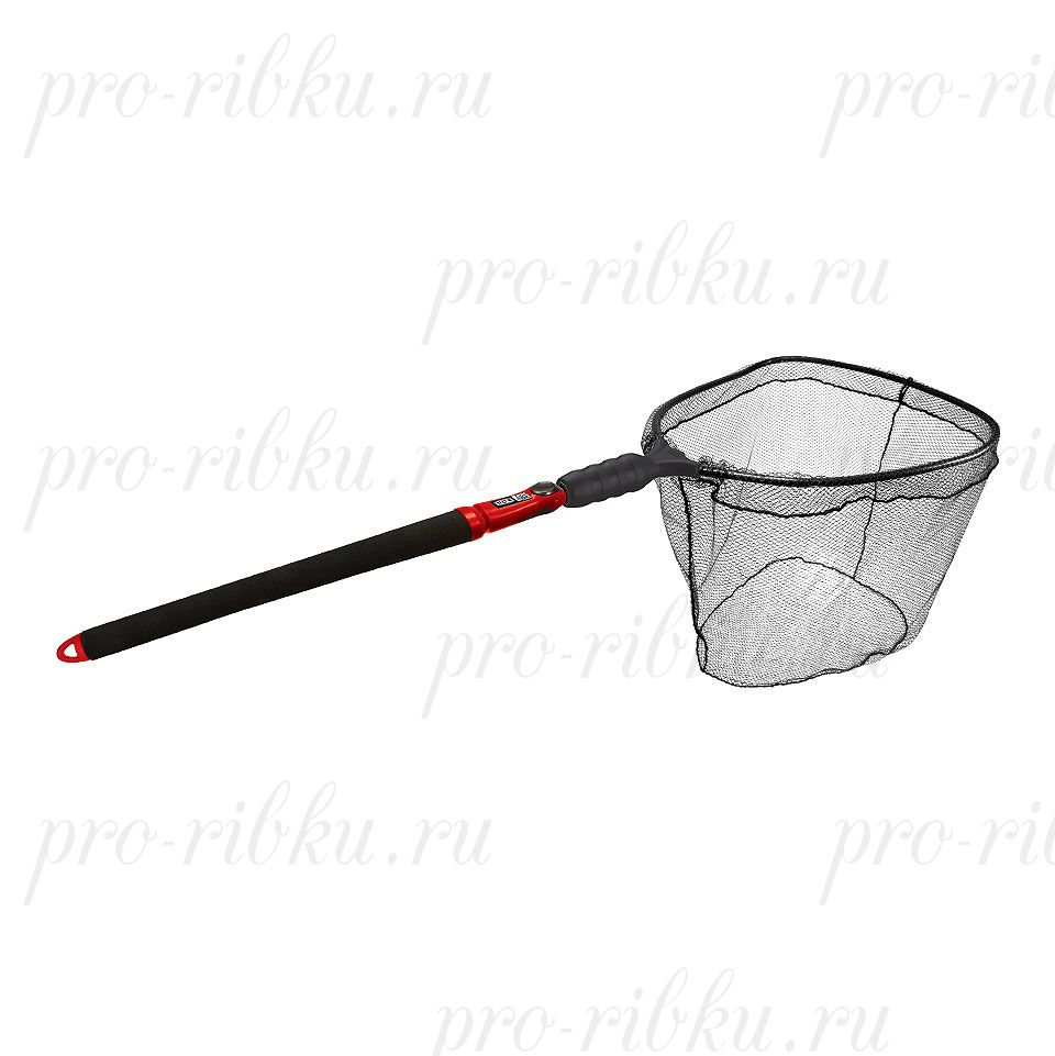 Подсак-слайдер нетонущий EGO S2 Slider; обруч 43x48x41 см; ПВХ-плоское дно; рукоятка 74-152 см; вес 1160 гр.