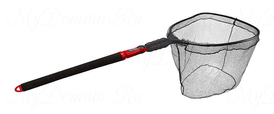 Подсак-слайдер нетонущий EGO S2 Slider; обруч 48x53x51 см; ПВХ-плоское дно; рукоятка 74-152 см; вес 1200 гр.