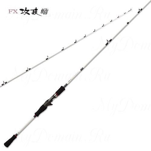 Удилище кастинговое Prox FX Semewaza Kisu 180B 180см, 2 секции, 5-25 гр, вес 110 гр, транспортная длина 93 см.