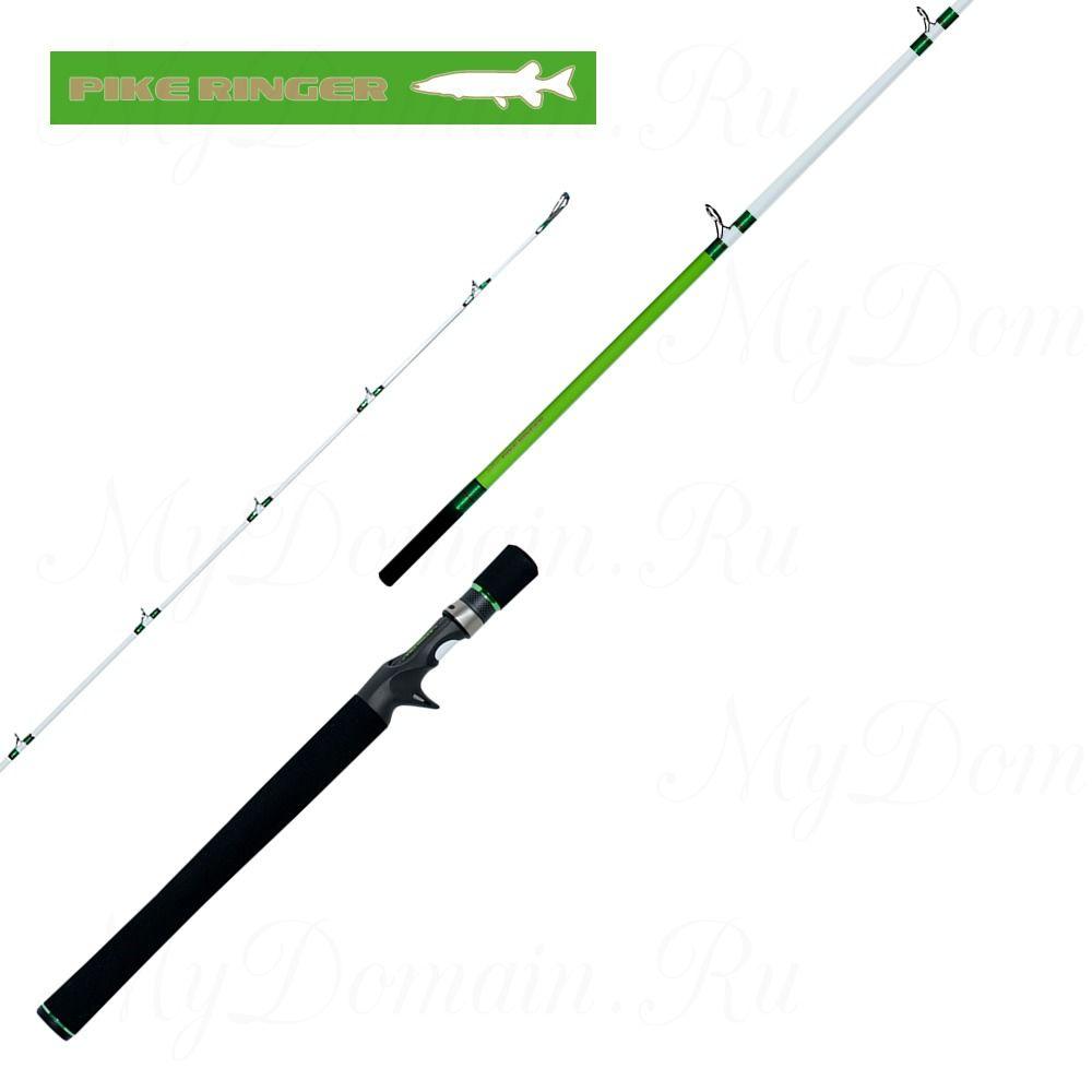 Удилище кастинговое Reins Pike Ringer RPR 7.0 OMFB 213 см, 1 секция+рукоятка, 10-50 гр, вес 168 гр, транспортная длина 181 см.