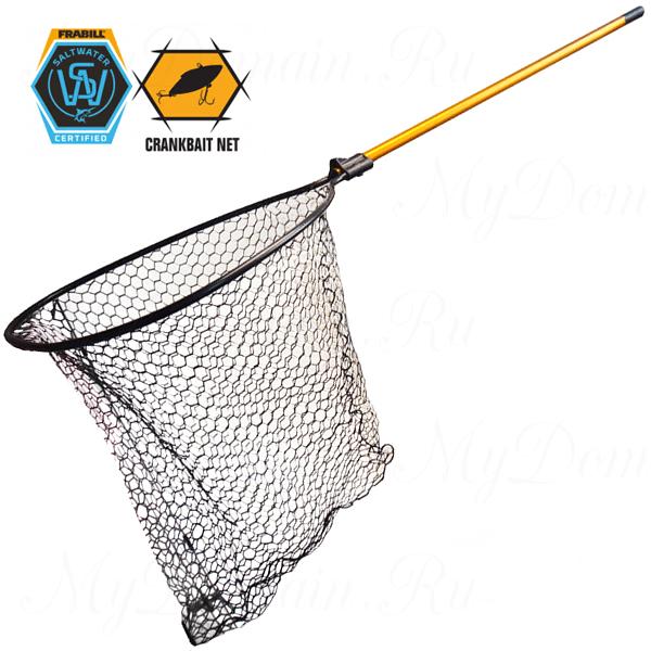 """Подсак Frabill Conservation Series Landing Net, обруч 23х26"""", глубина 32"""", ячейка 1"""", ручка 48"""""""