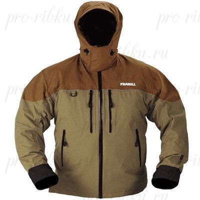 Куртка штормовая FRABILL F3 Gale Rainsuit Jacket Brown размер L