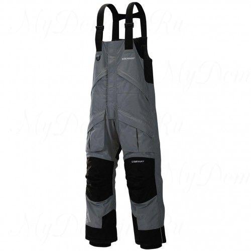 Полукомбинезон зимний Frabill FXE SnoSuit Bib Gray размер XL
