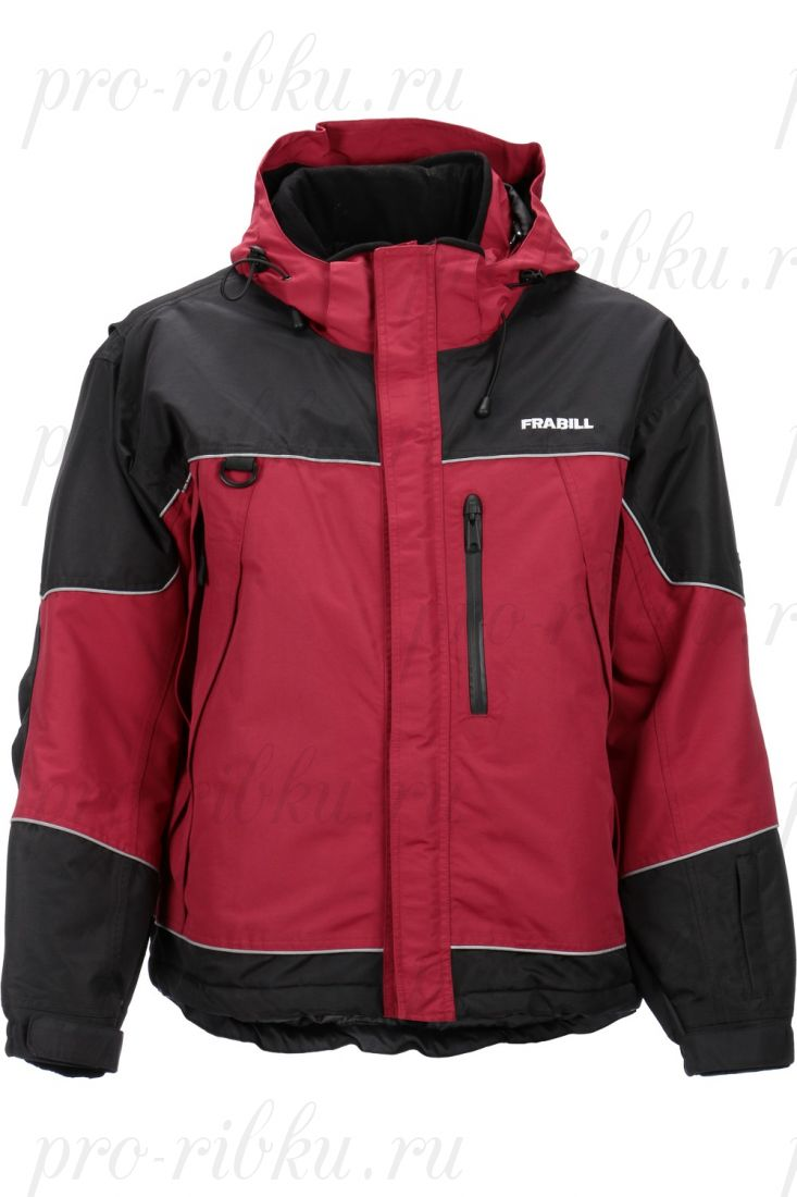 Куртка зимняя Frabill FXE SnoSuit Jacket Red размер L