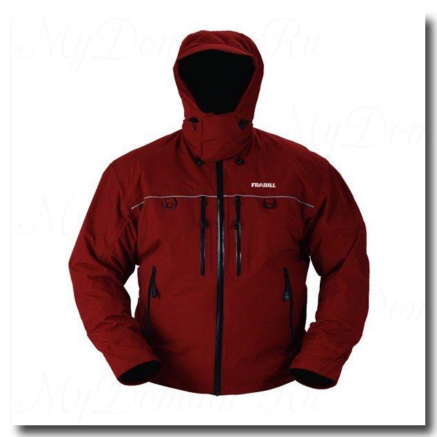 Куртка штормовая Frabill FXE Storm Suit Jacket Russet Red размер 2XL