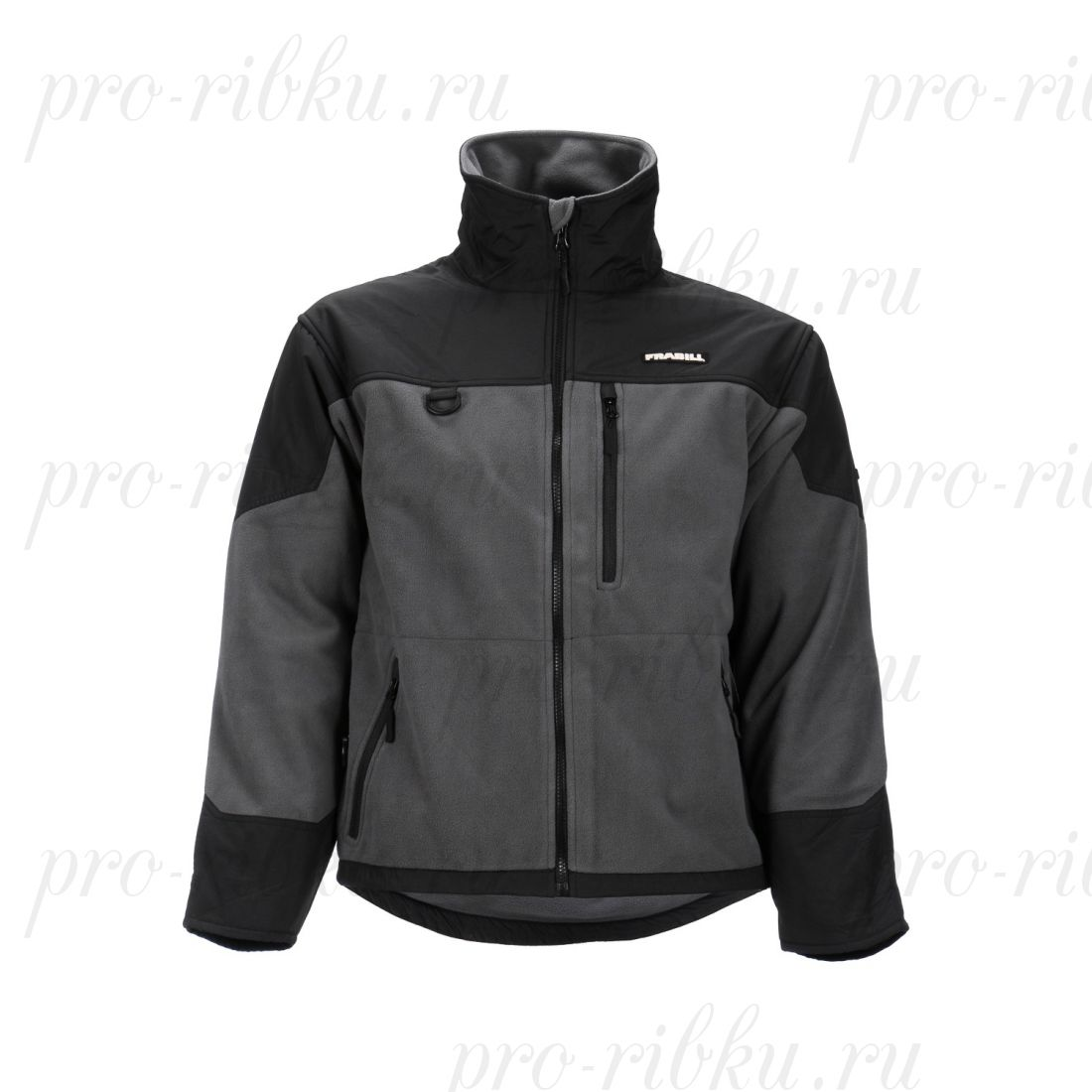 Куртка флисовая Frabill FXE WINDPROOF FLEECE Jacket размер 2XL