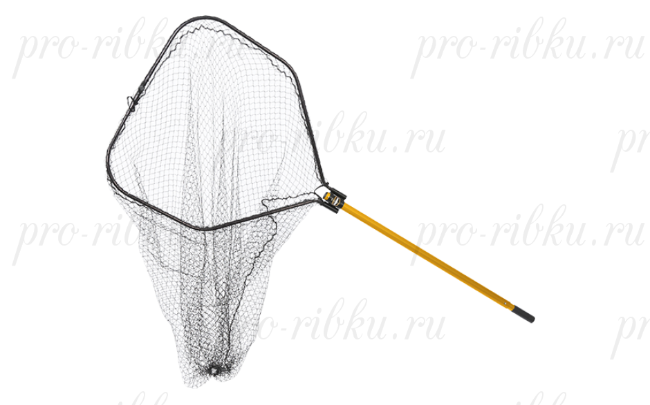"Подсак Frabill Power Stow Net складной, обруч 36x38"", глуб. 56"", ячейка 1,5"", ручка 48-66"""