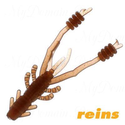 """Приманка рак Reins Ring Shrimp 4"""", в уп. 8шт.#004 Scuppernong"""