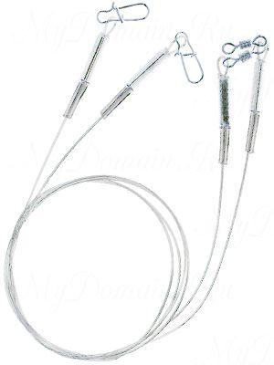 "Поводок ZETTECH ""ЛАЙТ"" материал HardMono; до 7 кг; 30см; упак. 2шт (Zttch-P-HM-LT-7kg-30sm-2)"