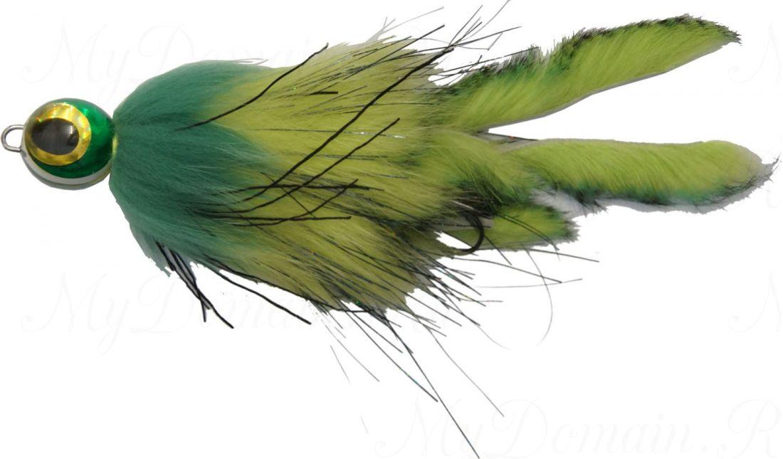 Приманка Westin Monster Fly, 210 мм, 25 гр, медленно тонущая, #Cannibal Perch