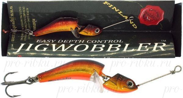 Джигвоблер Wake Jigwobbler 50, 5 см, 8 гр, #Shiny Red