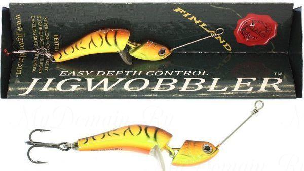 Джигвоблер Wake Jigwobbler 65, 6.5 см, 18 гр, Fire Tiger