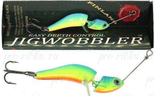 Джигвоблер Wake Jigwobbler 65, 6.5 см, 18 гр, Parrot