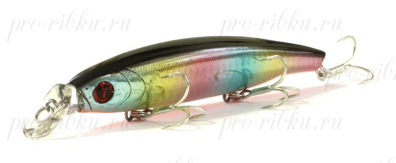 Воблер Izumi Eimann Minnow 120SS, #13 Rainbow B.B