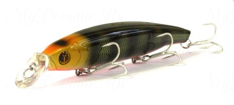Воблер Izumi Eimann Minnow 120SS, #26 Yellow Head Perch