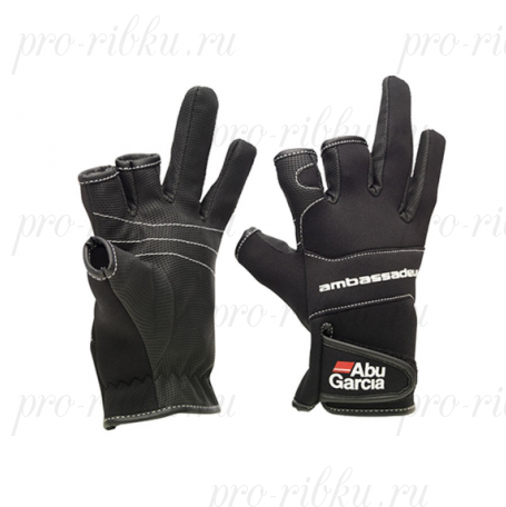 Перчатки Abu Garcia Stretchable Neoprene Gloves L