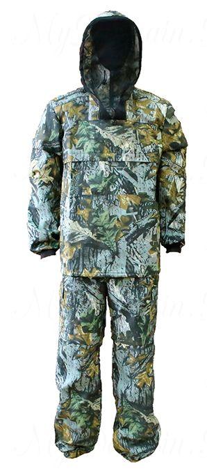 Костюм Антигнус люкс с ловушкой (ткань смесовая 65/35) раз 56-58/ темный лес