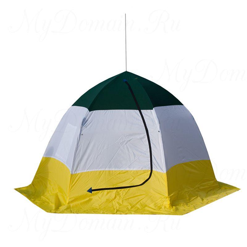 Палатка-зонт без дна СТЭК Elite 4-х мест., двухслойная