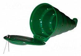 Кормушка A-elita Конус пластиковая с замком мал.