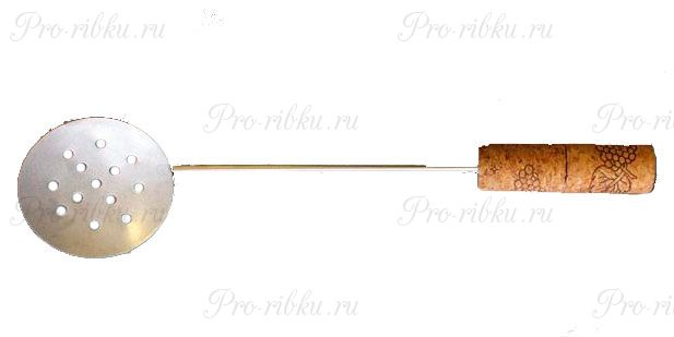 Черпак оцинков. с пробковой ручкой (Тверь)