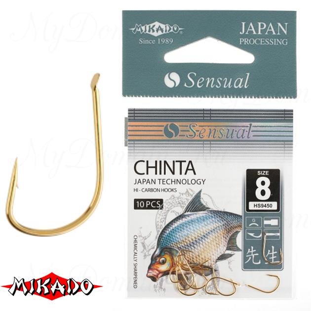 Крючки Mikado SENSUAL - CHINTA № 10 G (с лопаткой) уп.=10 шт., упак