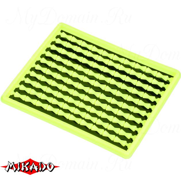 Стоппоры для бойлов Mikado жесткие (желтые) AMC-11500-04  уп.=2 шт., упак