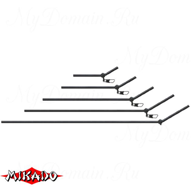 Трубка - антизакручиватель Mikado с карабином 15 см.  уп.=10 шт., упак